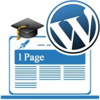 آموزش ساخت وب سایت تک صفحهای در وردپرس