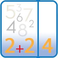 ماشین حساب ساده برای انجام محاسبات به صورت خطی