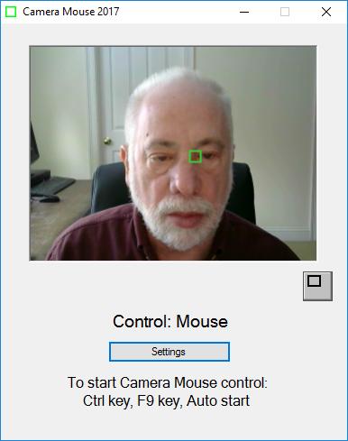 دانلود نرم افزار Camera Mouse