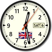 نمایش ساعت کشورهای مختلف جهان