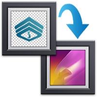 ادغام دو تصویر با استفاده از شفافیت