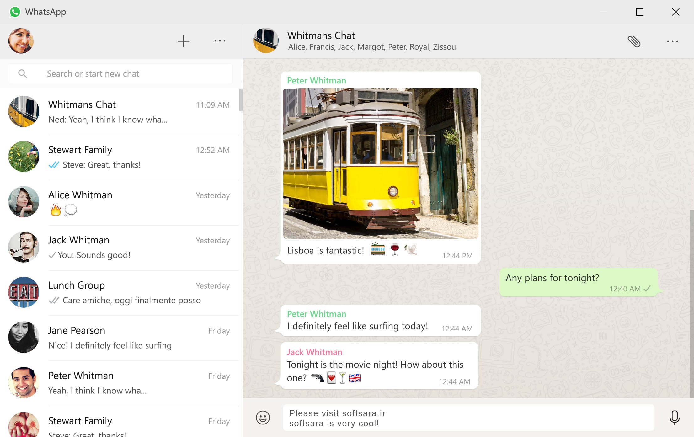دانلود نرم افزار whatsapp