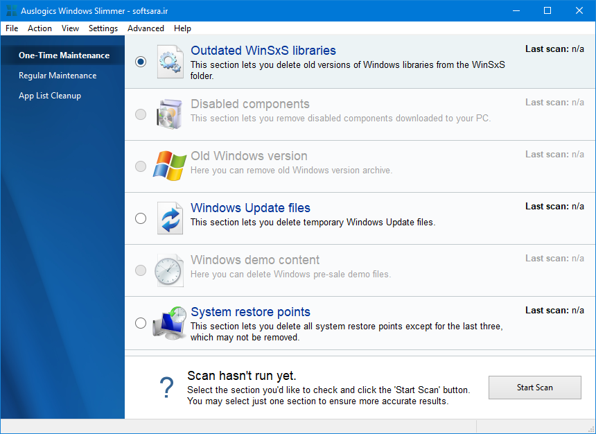 دانلود نرم افزار Auslogics Windows Slimmer