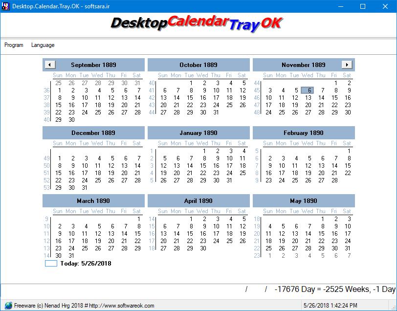 Desktop.Calendar.Tray.OK