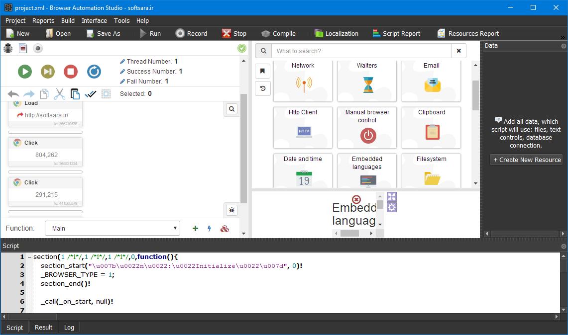 BrowserAutomationStudio