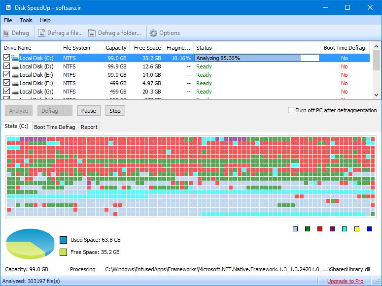 دانلود نرم افزار Disk SpeedUp