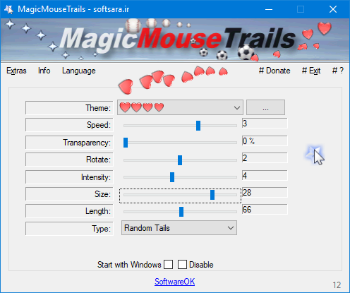 دانلود نرم افزار MagicMouseTrails