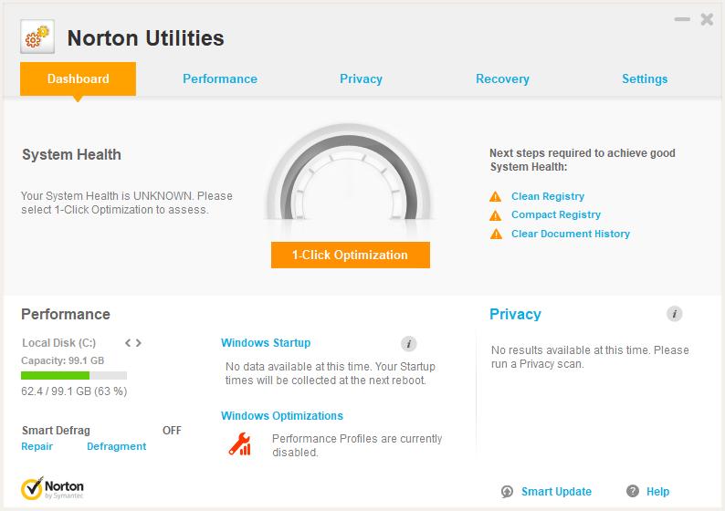 دانلود نرم افزار Norton Utilities