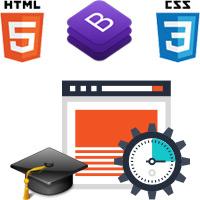 آموزش سریع طراحی سایت با HTML, CSS, Bootstarp