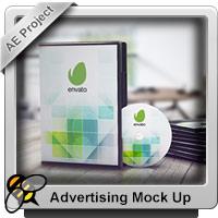 پروژه افتر افکت موکاپهای تبلیغاتی