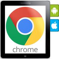 مرورگر گوگل کروم برای گوشیهای هوشمند