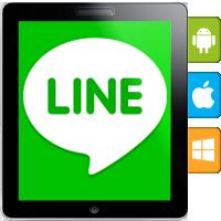 پیام رسان لاین برای گوشیهای هوشمند