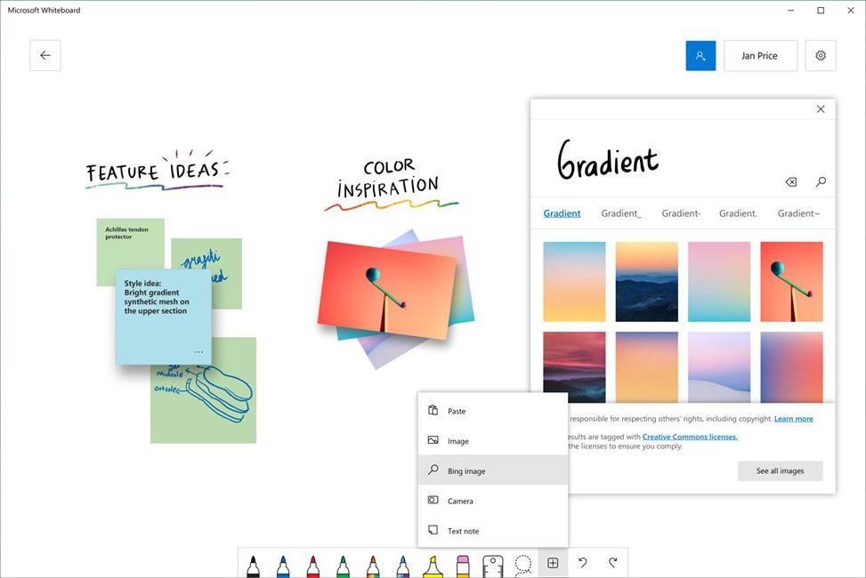 دانلود نرم افزار Microsoft Whiteboard