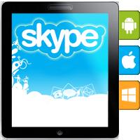 اسکایپ برای گوشیهای هوشمند