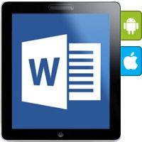 مایکروسافت ورد برای گوشیهای هوشمند