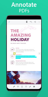 Adobe Reader Mobile - Annotate
