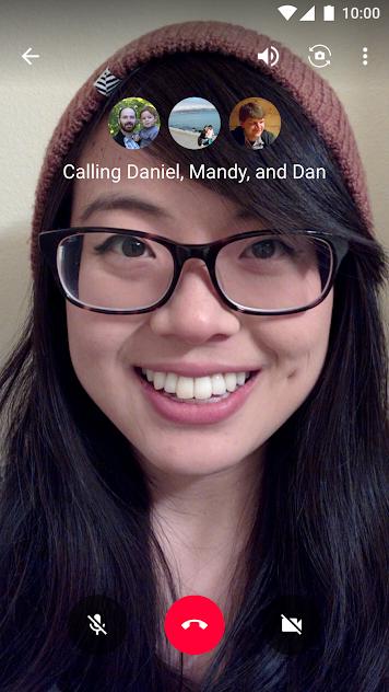 دانلود نرم افزار hangouts برای آیفون