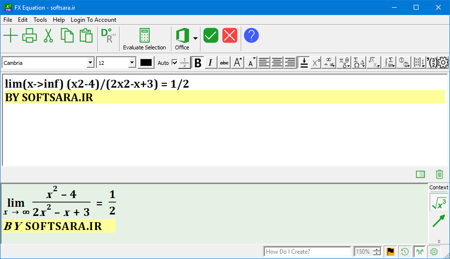 نرم افزار FX Equation