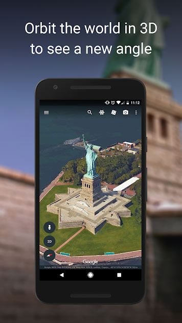 دانلود Google Earth Android