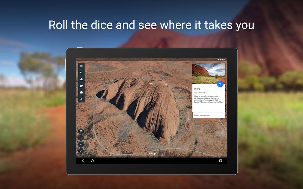 دانلود google earth اندروید