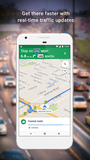 دانلود نرم افزار Google Map