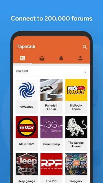 دانلود نرم افزار Tapatalk