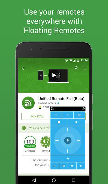 دانلود نرم افزار Unified Remote Full