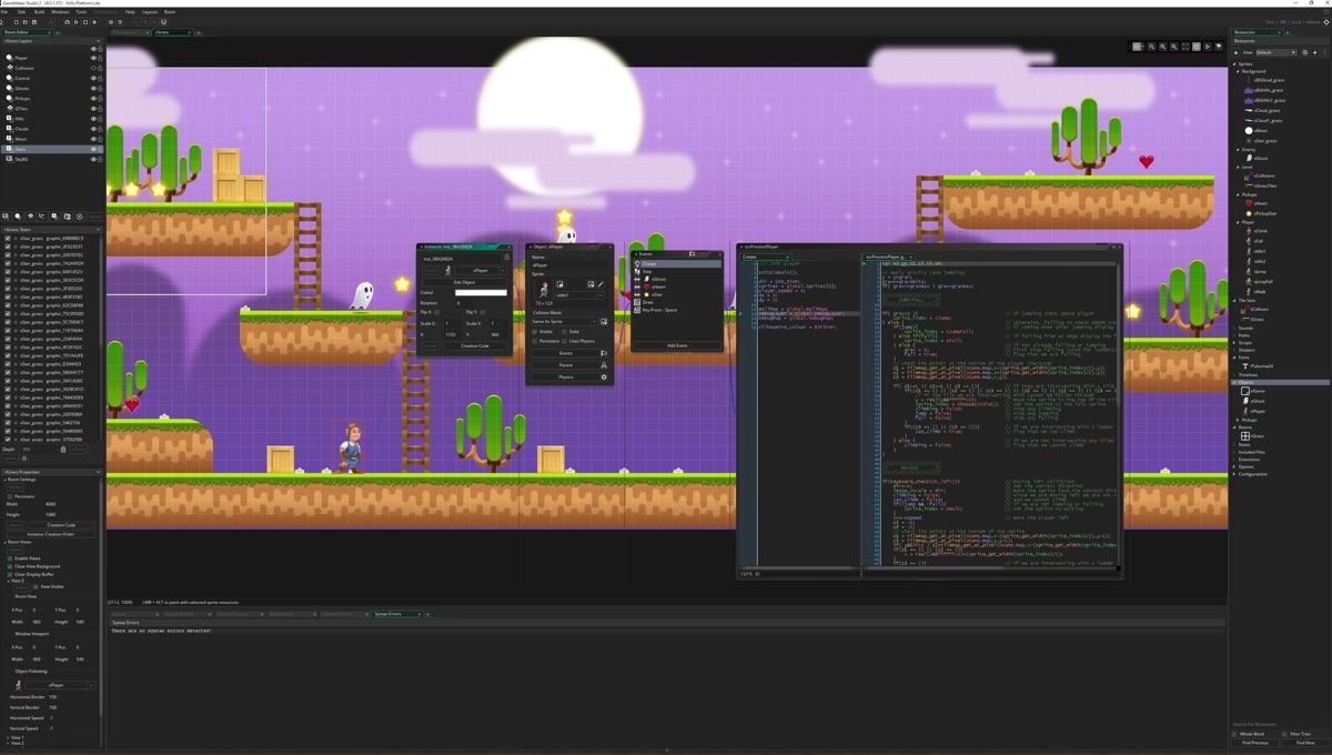 دانلود نرم افزار GameMaker Studio