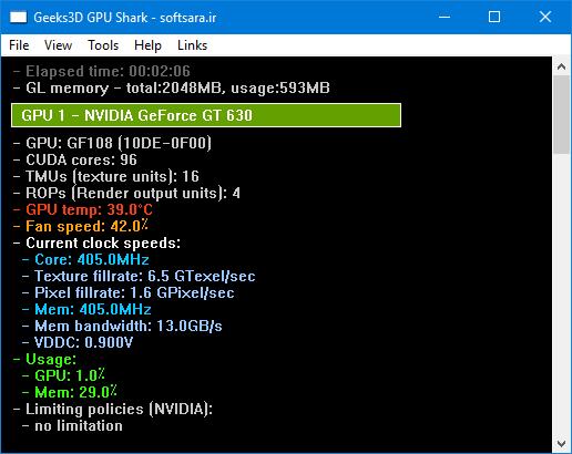 دانلود نرم افزار GPU Shark