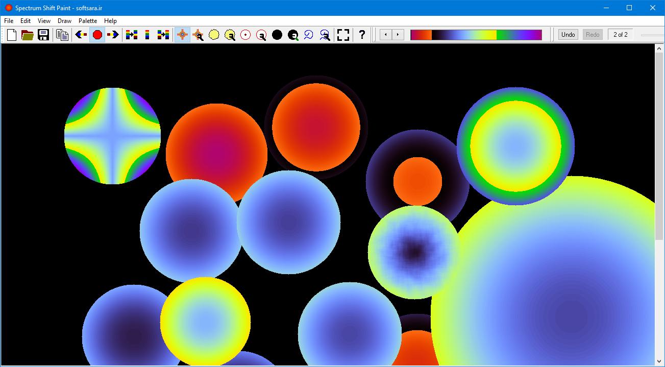 Spectrum Shift Paint