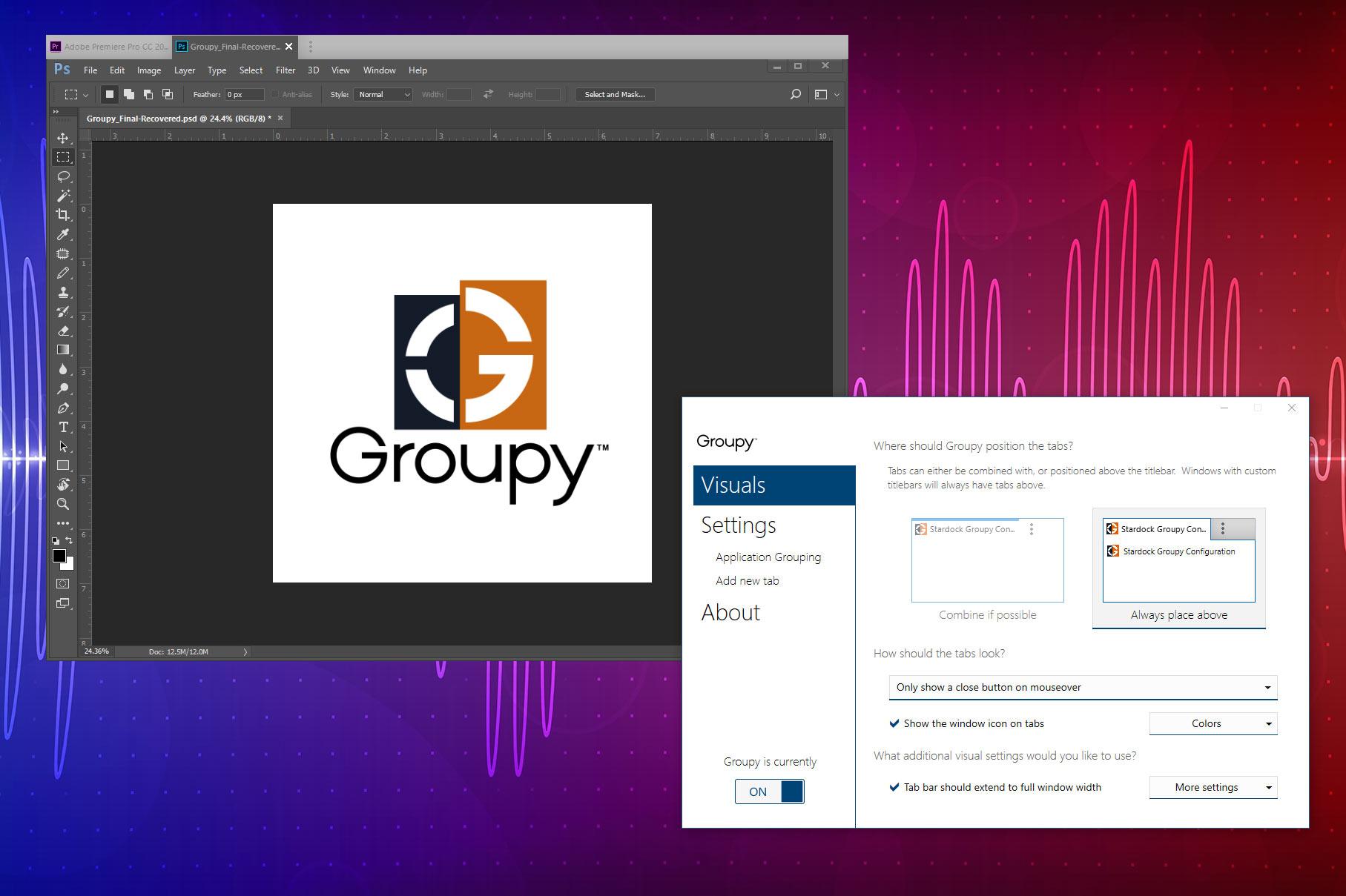 دانلود نرم افزار Groupy