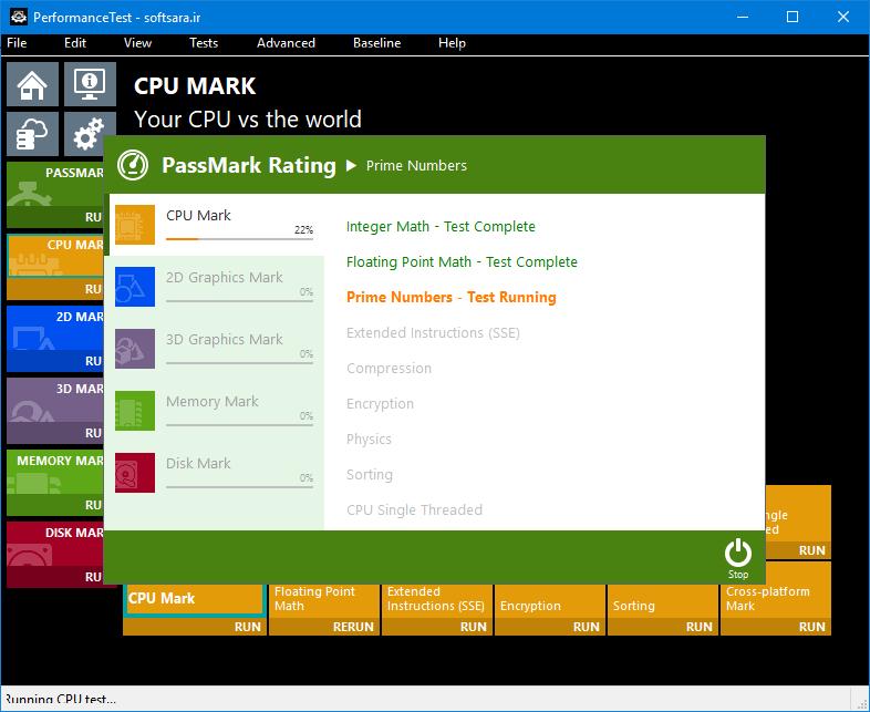 دانلود Passmark Performance Test