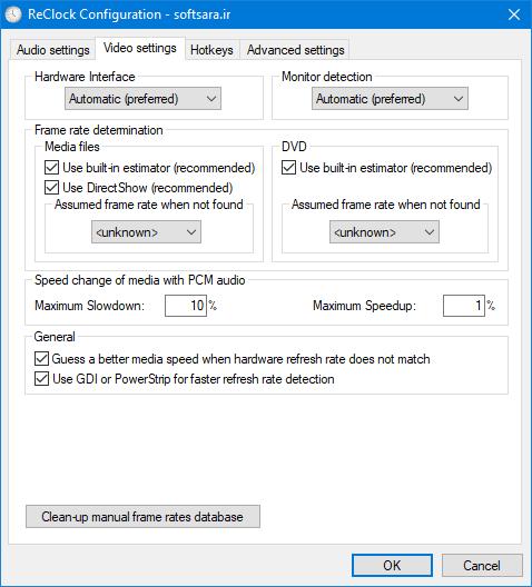 ReClock DirectShow Filter