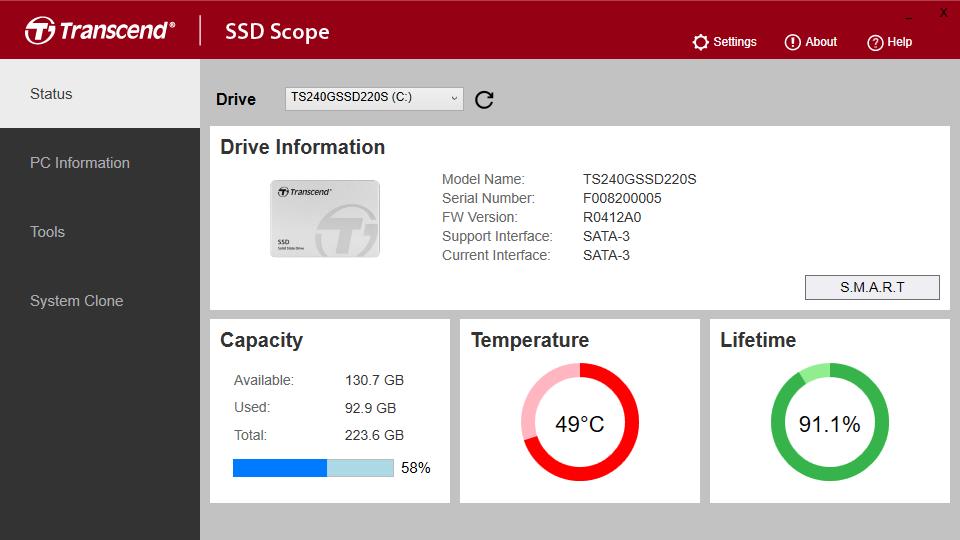 دانلود نرم افزار SSD Scope