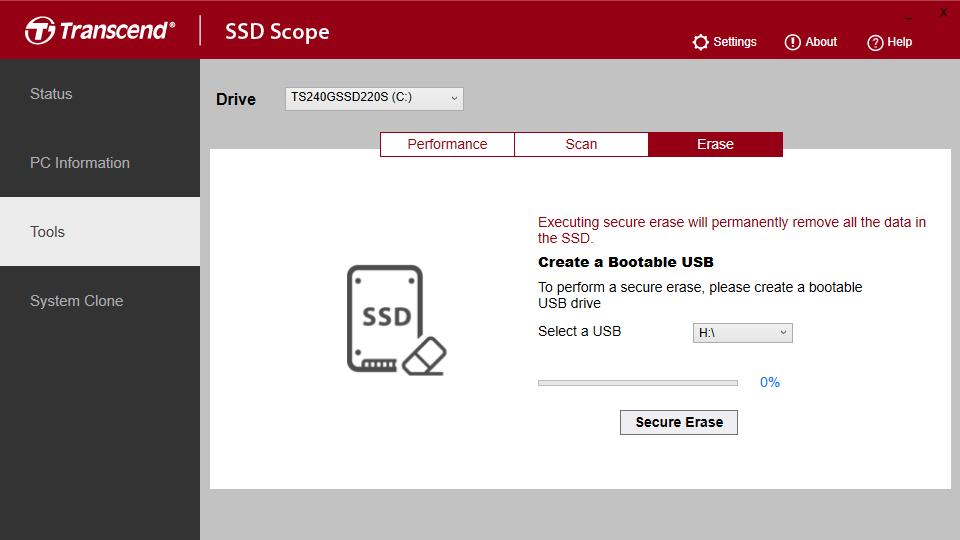 SSD Scope App