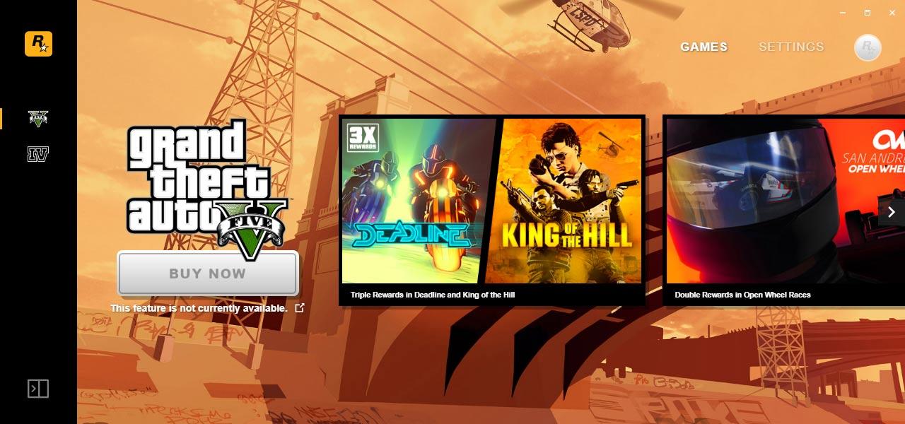 دانلود نرم افزار Rockstar Games Launcher