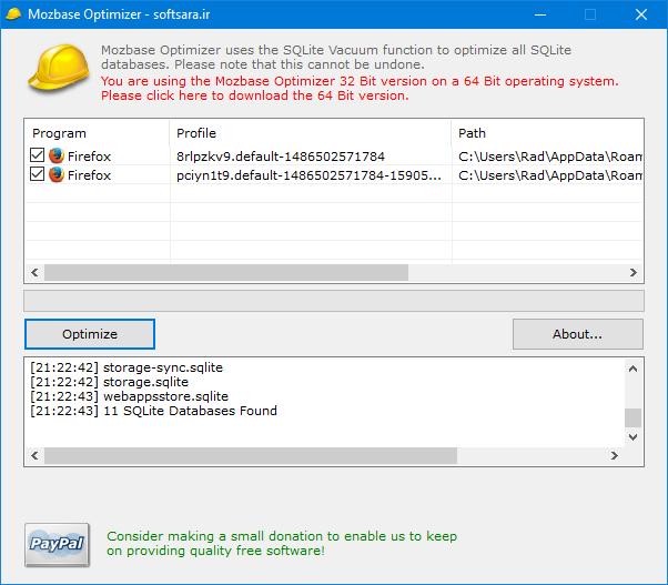 دانلود نرم افزار Mozbase Optimizer