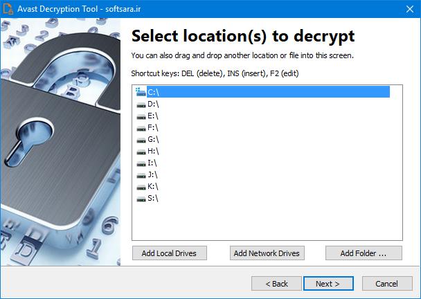 دانلود نرم افزار Avast Decryption Tool