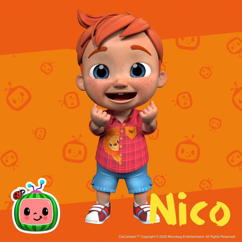 Nico - دوست مهد کودک کوکوملون